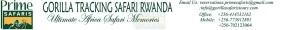Rwanda Gorilla Tracking Safaris Logo