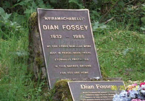 Dian Fossey Tomb in volcanoes national park rwanda