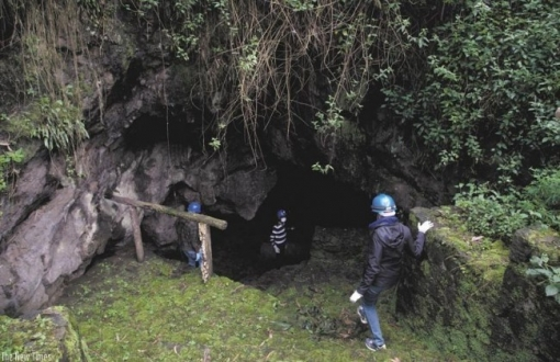 Musanze Caves in volcanoes national park rwanda
